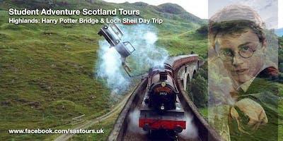 Highlands: Harry Potter Bridge & Loch Sheil Day Trip
