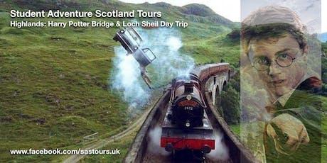 Highlands: Harry Potter Bridge & Loch Sheil Day Trip tickets