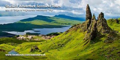 Isle of Skye and Highlands Weekend Trip