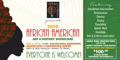 2019 AFRICAN AMERICAN ARTS & HISTORY SHOWCASE