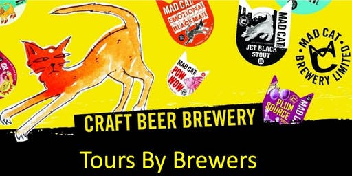 Tour and Tasting at Mad Cat Brewery