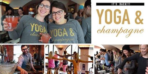 Yoga & Champagne Holiday Bash
