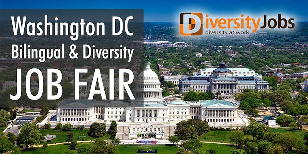 washington dc bilingual diversity job fair registration fri may