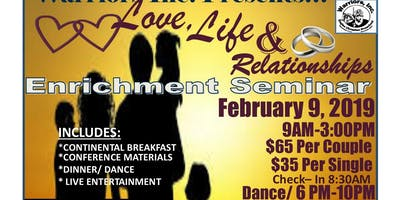 Warriors Inc.- Love, Life, & Relationships Conference