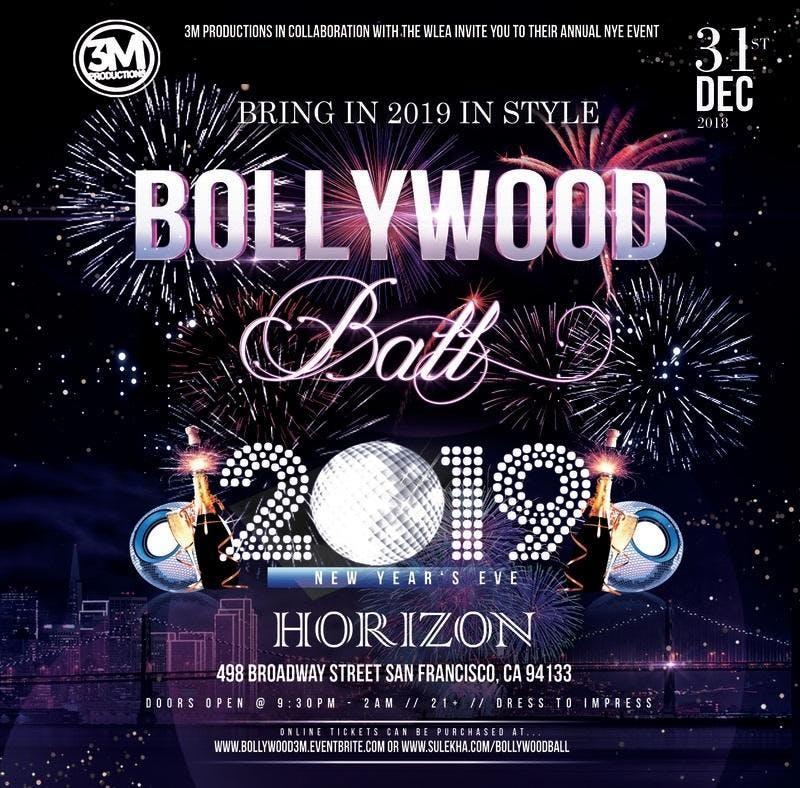 BOLLYWOOD BALL 2019 - NYE Celebration at Horizon Lounge in