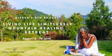 Althea's 9th Annual Georgia Mountain Healing Retreat tickets