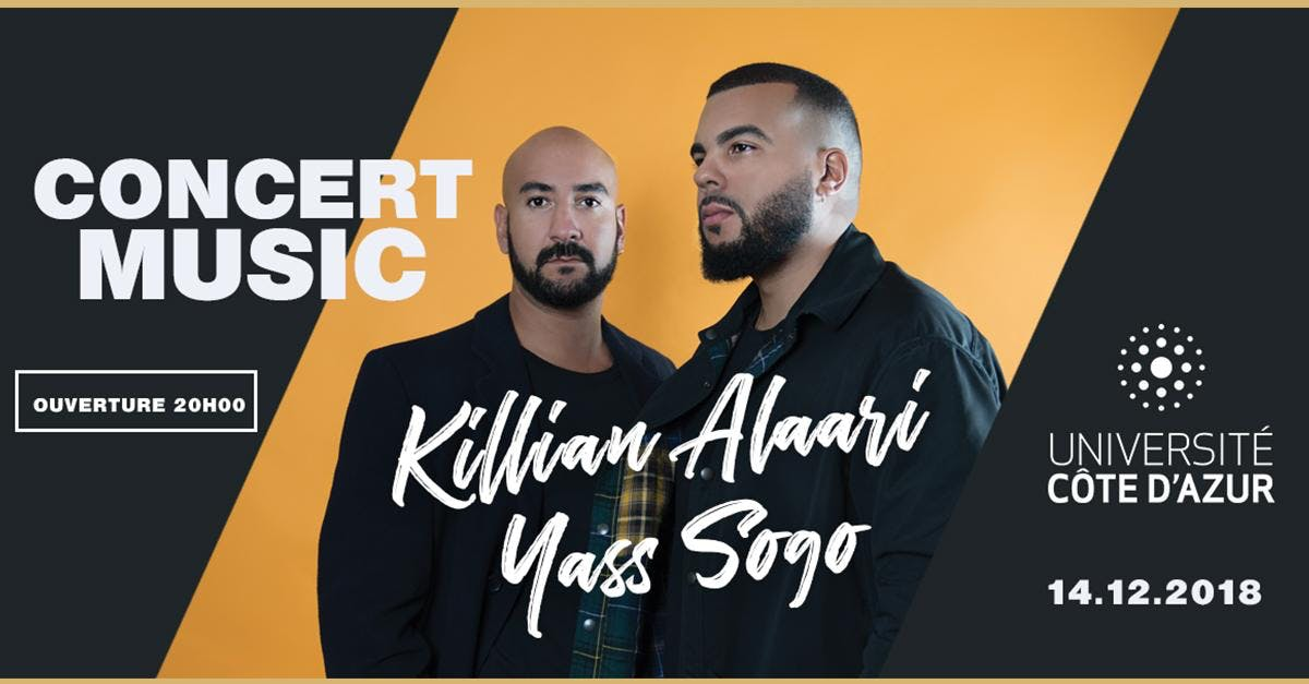 Concert Music Live Killian Alaari & Yass Sogo