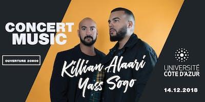 Concert Music Live Killian Alaari & Yass Sogo