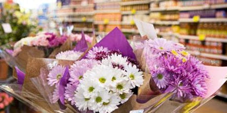 Super Market Flower Bouquet Workshop tickets