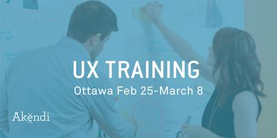UX Professional Training & Certification, OTTAWA February/March 2019