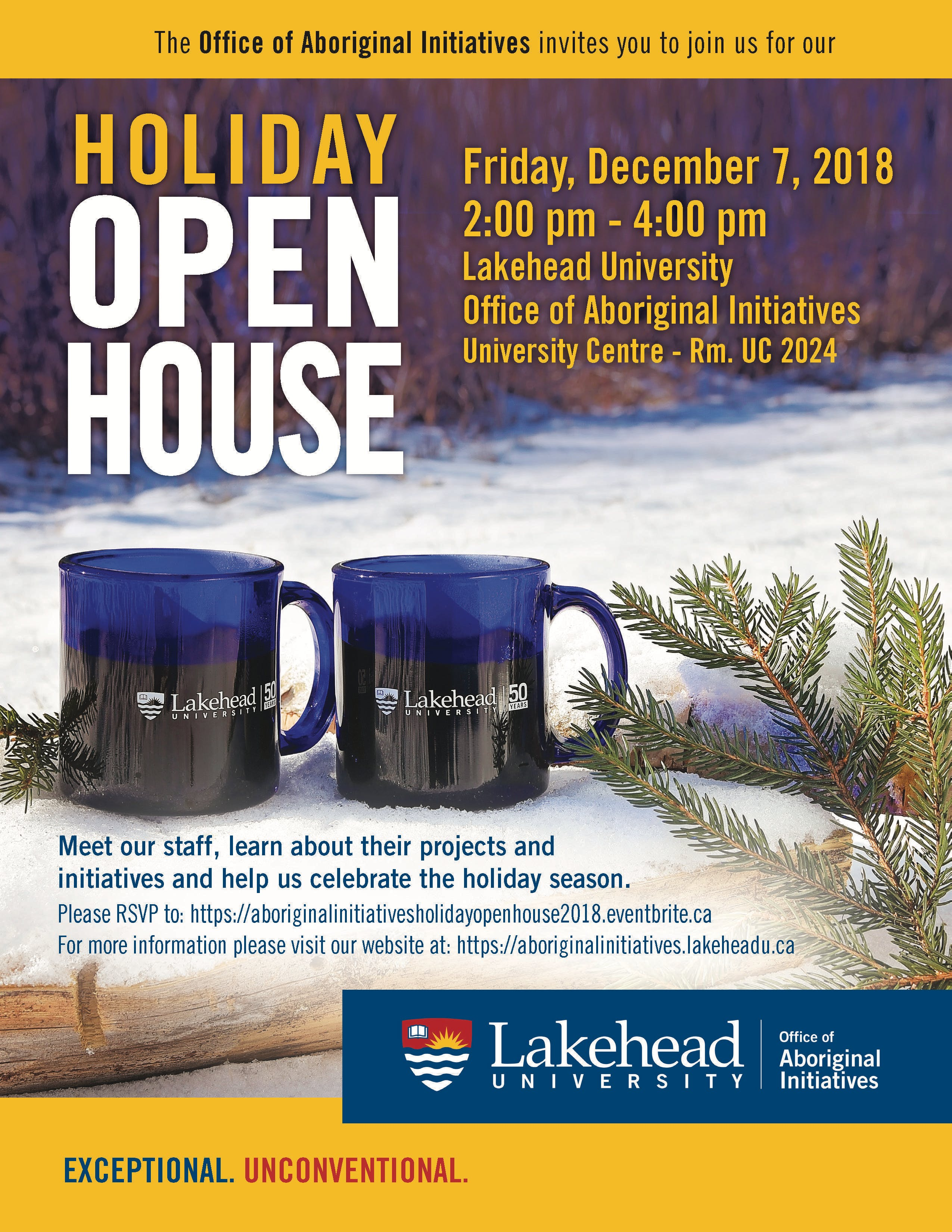 All Events In Thunder Bay Today And Upcoming Tupperware Open House Oh Serving Aboriginal Initiatives Holiday