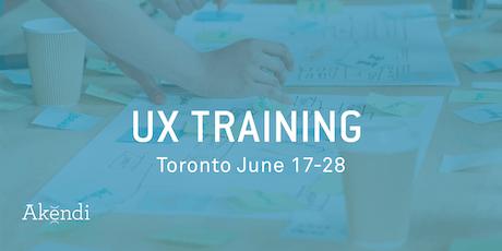 UX Professional Training & Certification, Toronto JUNE 2019 tickets