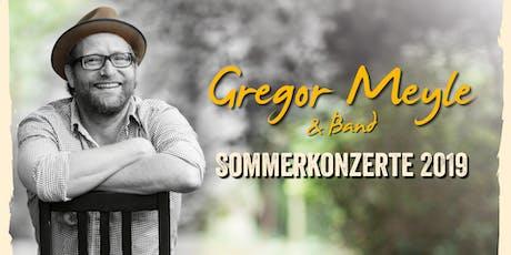 Gregor Meyle & Band zum Konzertsommer in Rudolstadt Tickets