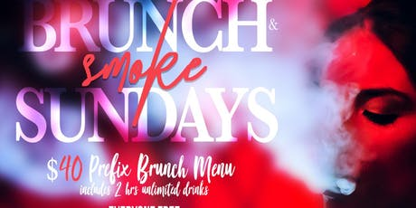 TDE- BRUNCH N SMOKE - BRUNCH | HOOKAH| DAY PARTY -LE REVE - SUNDAY FUNDAY tickets