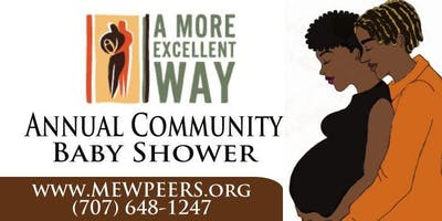 Contra Costa County's Annual African American Community Baby Shower
