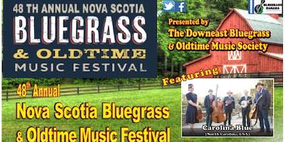 48th Annual Nova Scotia Bluegrass & Oldtime Music Festival July 25-28, 2019