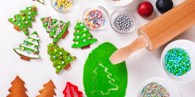 Kids' Holiday cookie decoration