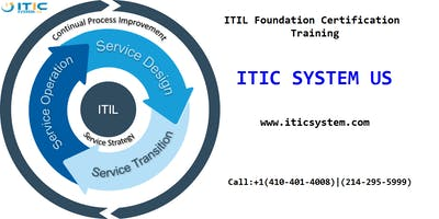 ITIL Foundation Certification 2 Days Workshop in Columbus, OH