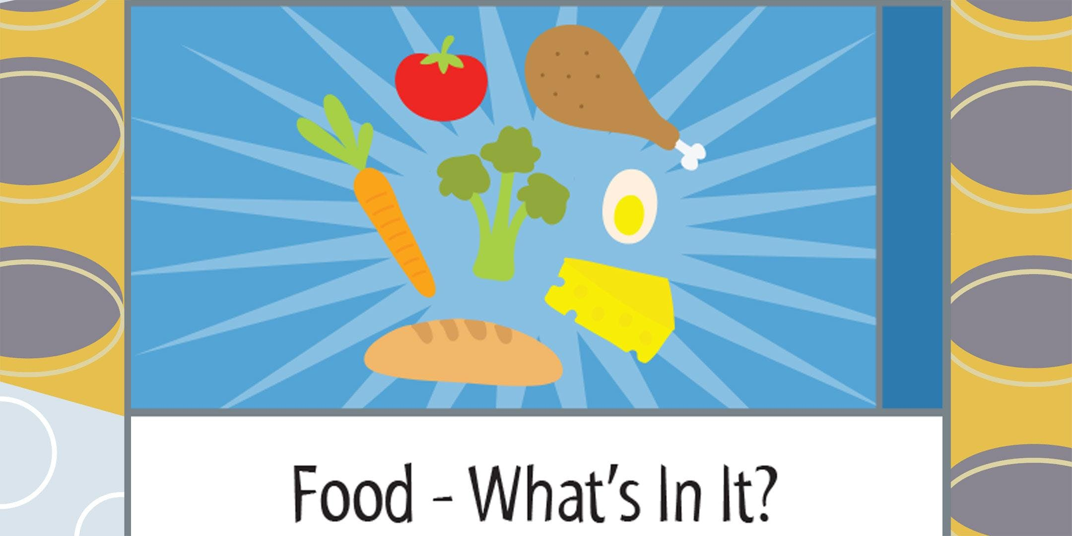 feaf4febf7f4 Science Saturday - Food- What s In It   11 AM - Grades 5 and 6 only ...