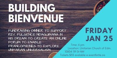 Building Bienvenue Fundraising Dinner