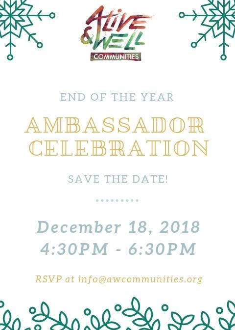 Ambassador Celebration