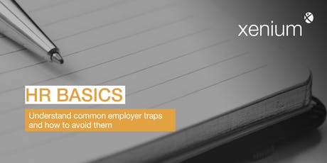HR Basics - Tips & Traps for Supervisors tickets