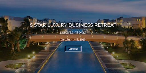 5 STAR LUXURY BUSINESS RETREAT - PUNTA CANA