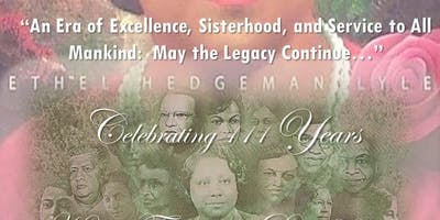 "Founders' Day Luncheon 2019 - ""An Era of Excellence, Sisterhood, and Service to All Mankind: May the Legacy Continue..."""