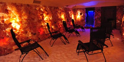 """Hypno-Meditation in the Salt Cave - \""""Letting Go of Stress\"""""""