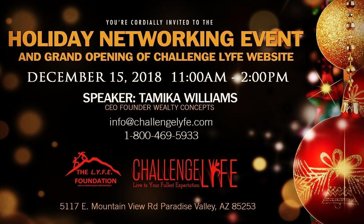 Professional Empowerment Networking  Holiday Brunch