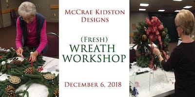 McCrae Kidston Designs Wreath Workshop