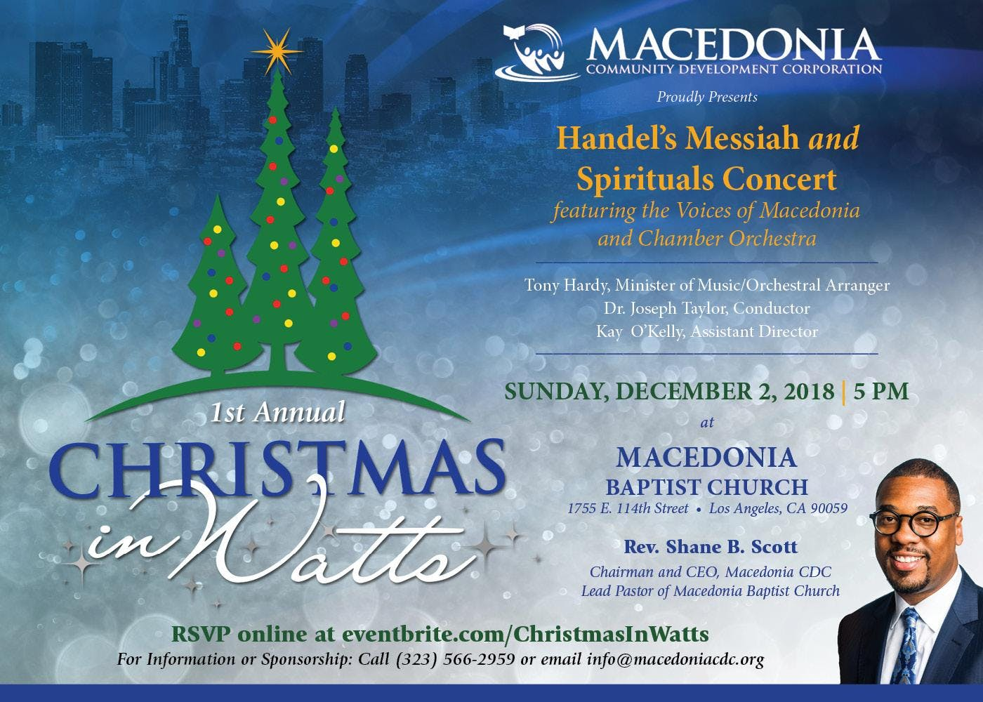 1st Annual Christmas in Watts Handel\'s Messiah and Spirituals ...