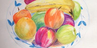 Watercolour Pencils:   Adults  Sat 9th March
