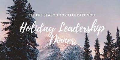 Leadership Holiday Dinner | 2018 Edition