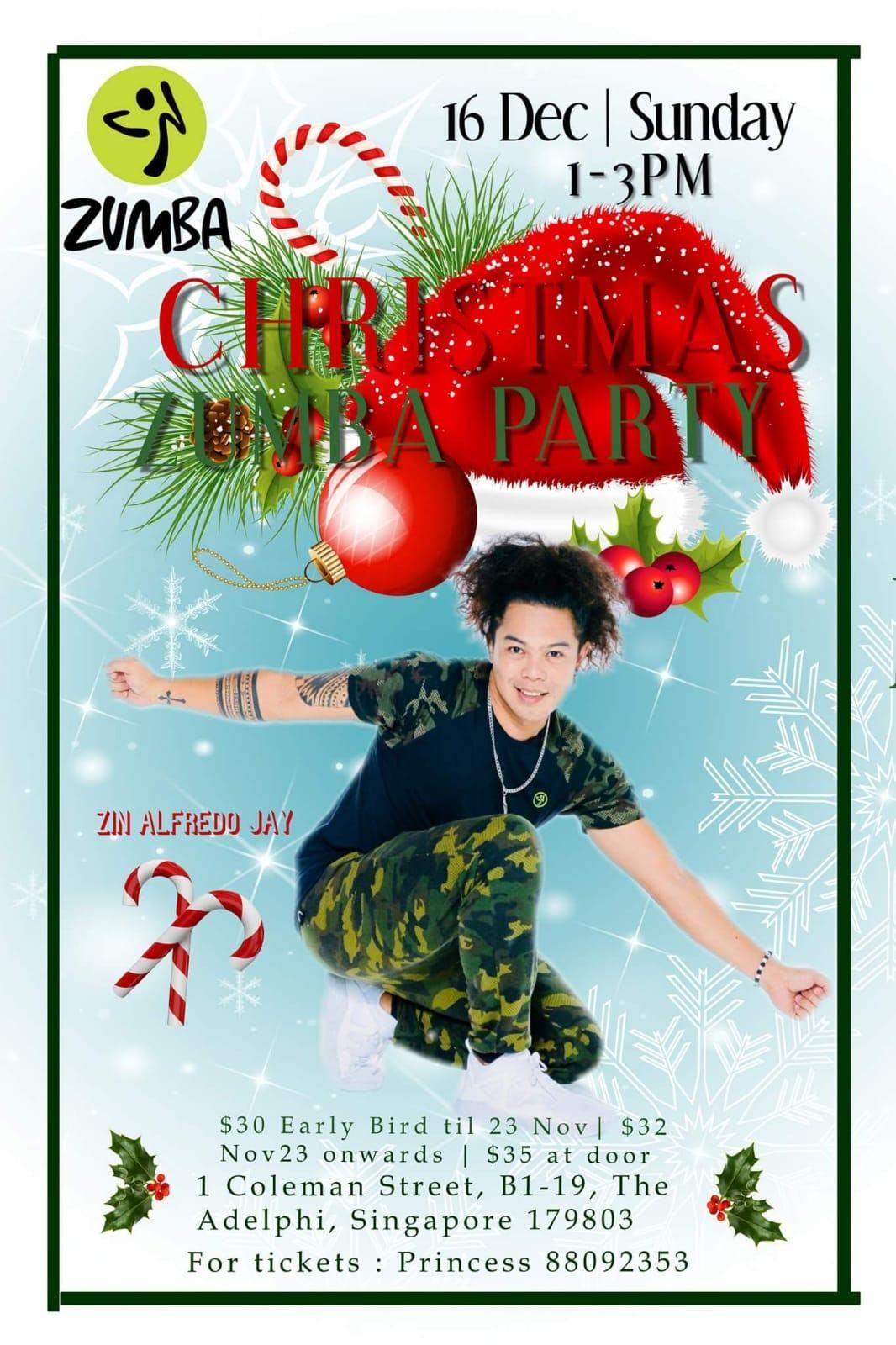 ZIN ALFREDO JAY CHRISTMAS ZUMBA MASTERCLASS SINGAPORE 16DECEMBER 1 ...