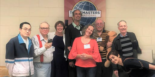 Public Speaking: Speakerhub Toastmasters (Guests are welcome)