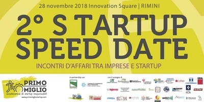2° STARTUP SPEED DATE - Incontri d'affari tra impresa e Startup