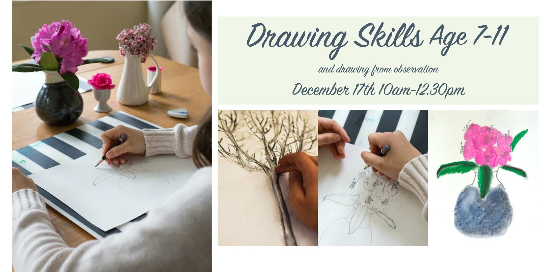 Drawing Skills Age 7-11