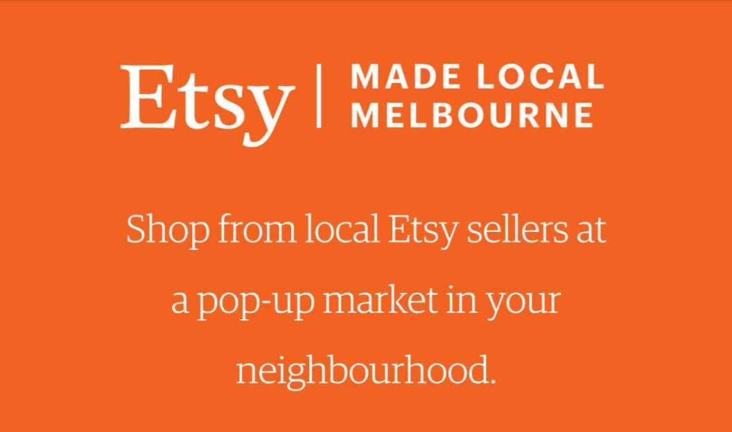Etsy Made Local Melbourne 2018