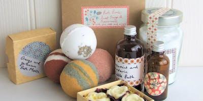 Handmade Bath Goodies Workshop (ideal for Christmas Presents)