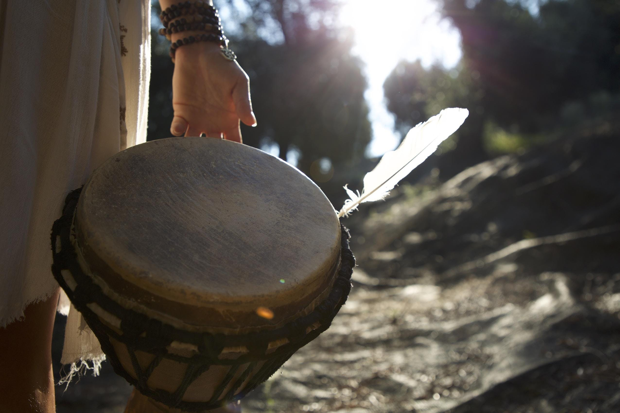 >>> Drum circle + Medicine songs + Cacao ce