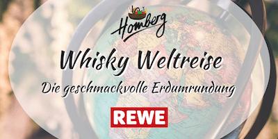 Whisky Weltreise - Die geschmackvolle Erdumrundung
