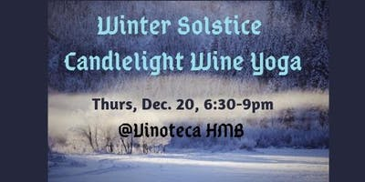 Winter Solstice Candlelight Yoga and Wine