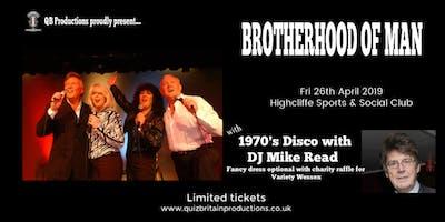 1970's Retro Night with Brotherhood of Man & DJ Mike Read