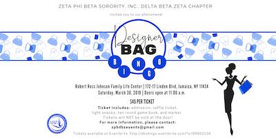 Zeta Phi Beta Sorority, Inc. - Delta Beta Zeta Chapter Presents Designer Handbag Bingo