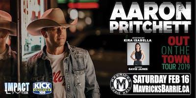 "AARON PRITCHETT's ""Out On The Town Tour"" w/ Kira Isabella & David James"