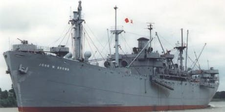 SS JOHN W BROWN September 7, 2019  Living History Cruise  tickets