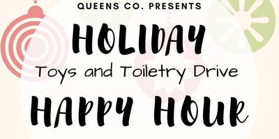 Holiday Happy Hour + Toy & Toiletry Drive