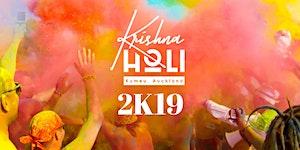 Krishna Holi - Festival of Colours Auckland 2019