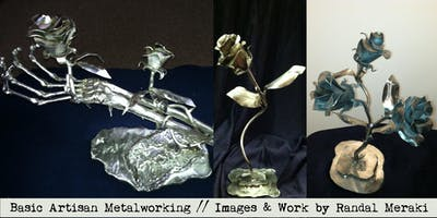 Basic Artisan Metalworking with Randal Meraki 5.8-22.19